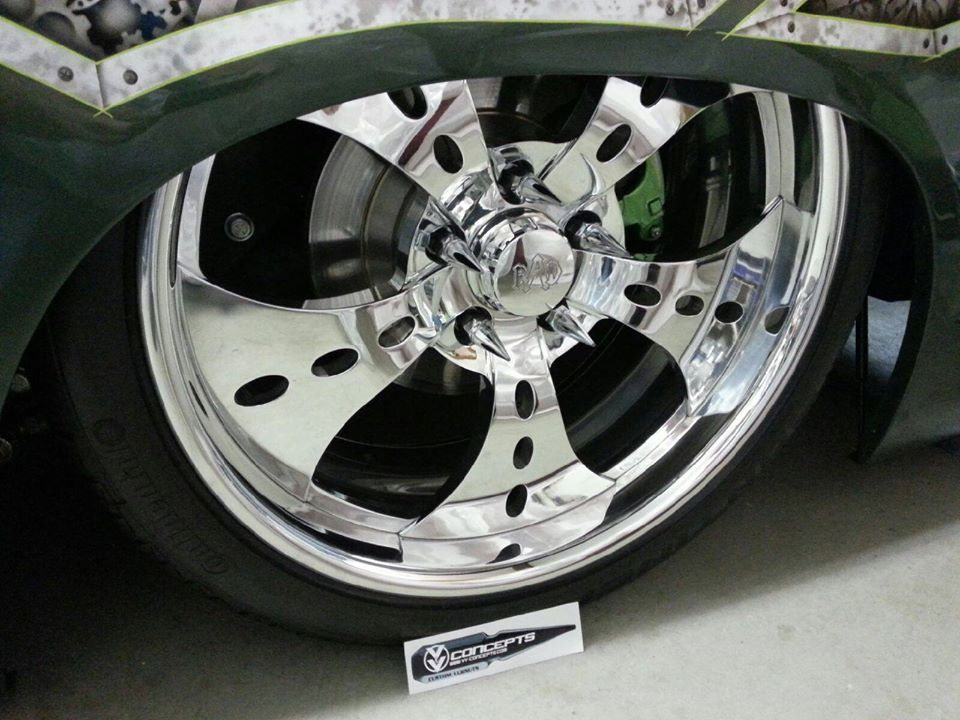 vv concepts spiked lug nuts autos post